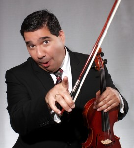 Violinist Rigo Murillo Teaching